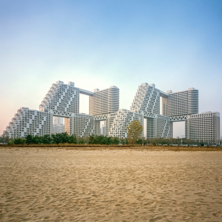 Safdie Architects, Somerville, MA, USA: Golden Dream Bay, Qinhuangdao, China