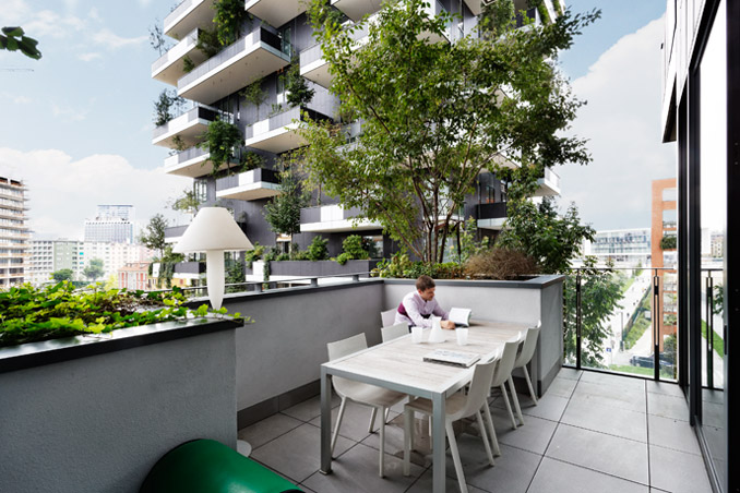 Bosco Verticale, photo: Kirsten Bucher