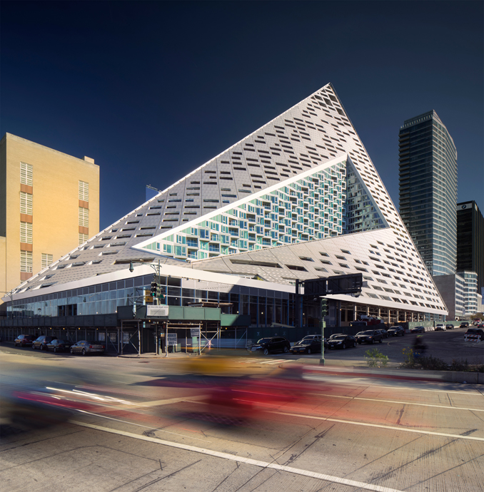 VIA 57 West, © Foto: Bjarke Ingels Group, Nic Lehoux